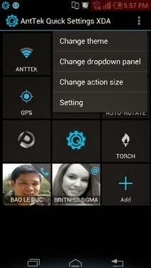 AntTek Quick Settings Pro Apk - Screenshoot