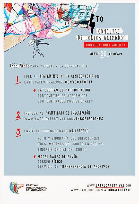 Convocatoria. Festival Internacional de Animación la Truca.
