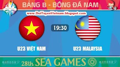 Trực Tiếp U23 Việt Nam vs U23 Malaysia – Vòng Bảng Seagame 28 - 02/06/2015 (Chất lượng HD)