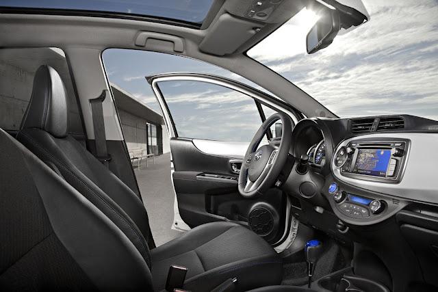Interior Toyota Yaris New 2016