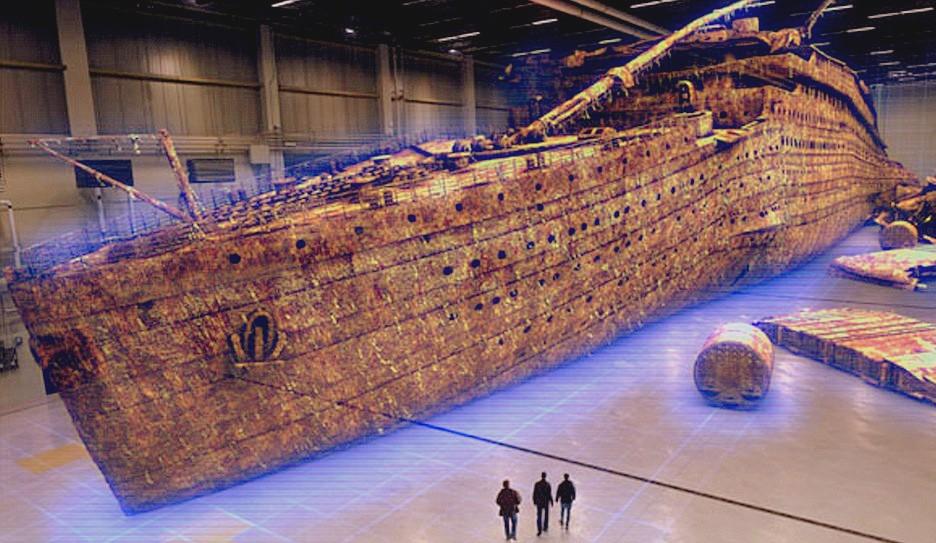 Famous Inside Titanic Wreck