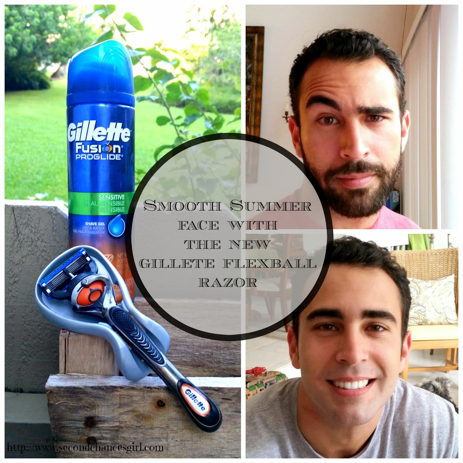 Smooth Summer Face With The New Gillette Flexball Razor! #SmoothSummer #shop