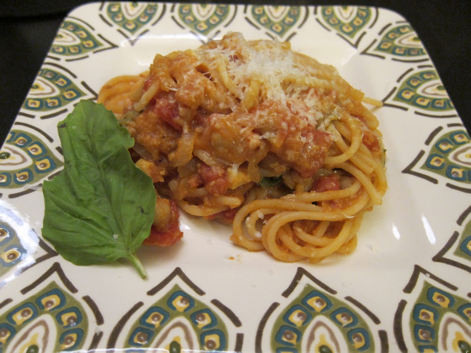 The Reluctant Home Cook: Spaghetti with Chickpeas