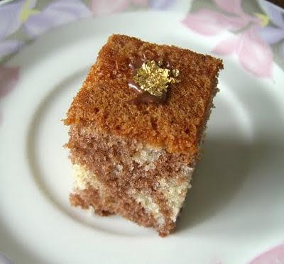 recettes  Le fameux gâteau marbré Savane au Thermomix