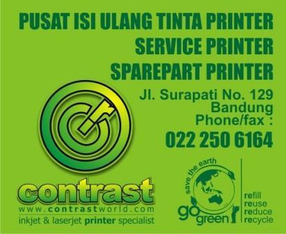 Jasa Pusat Refill Tinta, Service Printer