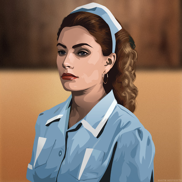 Twin peak illustrated - Shelly Johnson