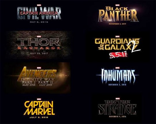 Marvel own geek asses for the next 5 years...