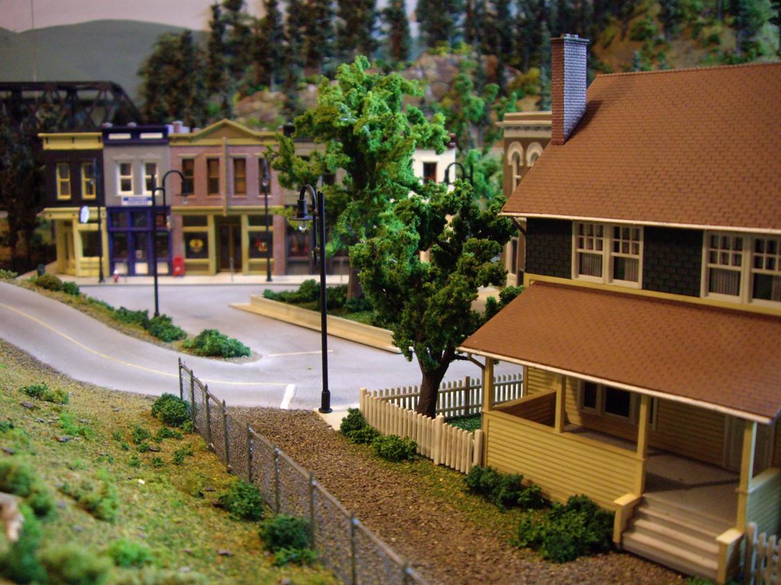 HO Model Train Scenery