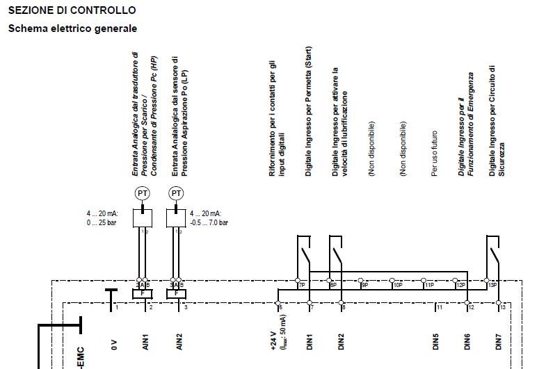 Schema Collegamento Inverter Motore Trifase : Macchine frigorifere