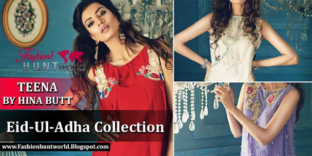 Teena By Hina Butt Eid-Ul-Adha Collection 2015
