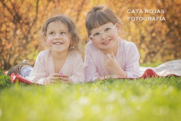 sesión de fotos de hermanas