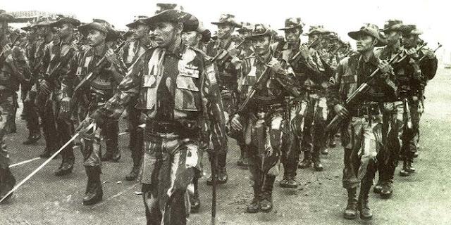 Kisah 50 prajurit Kopassus perang kalahkan ratusan pasukan Inggris