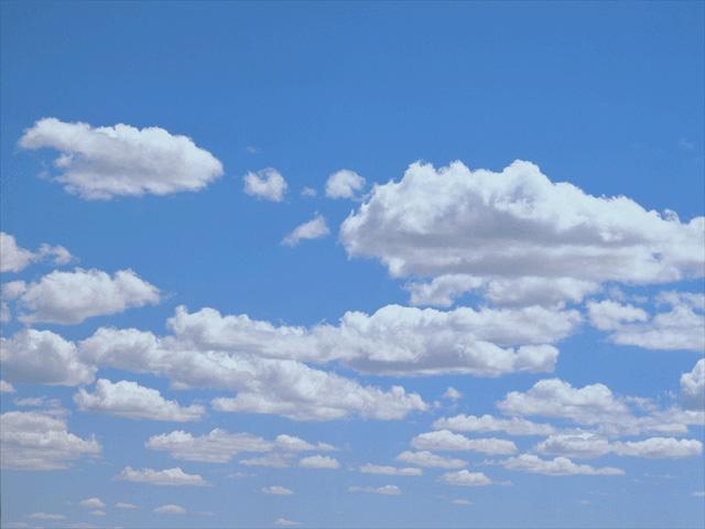 Cielos poco nublados cielos con nubes altas