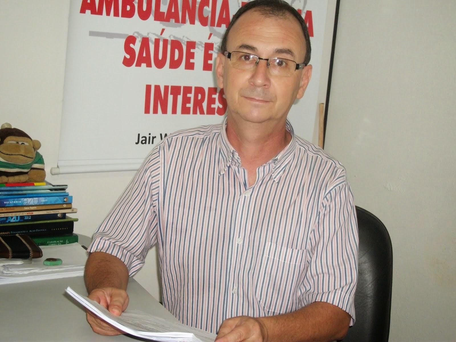 JAIR WINGERT PRESIDIRÁ FRENTE PARLAMENTAR