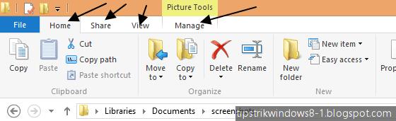 Cara Menampilkan dan Menghilangkan Ribbon File Explorer di Windows 8.1 7
