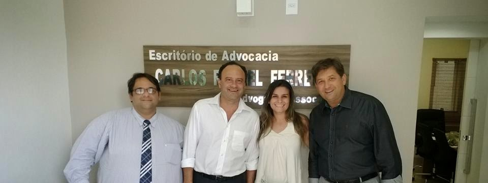 Carlos Rafael, Luís Cláudio, Fernanda Ribeiro e Vicente Loredo