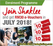 PROMOSI: E-VOUCHER RM30 UTK NEW MEMBER