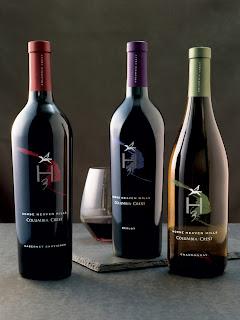 Wine (Columbia Crest) & Dinner
