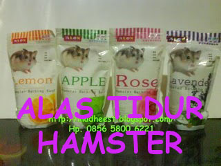 Alas Serbuk Hamster