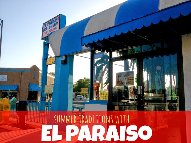 San Antonio Summer Traditions with the Original El Paraiso Fruit and Ice Cream Bars