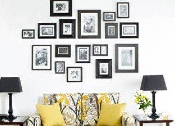 Trik Menghias Dinding dengan Lukisan atau Foto