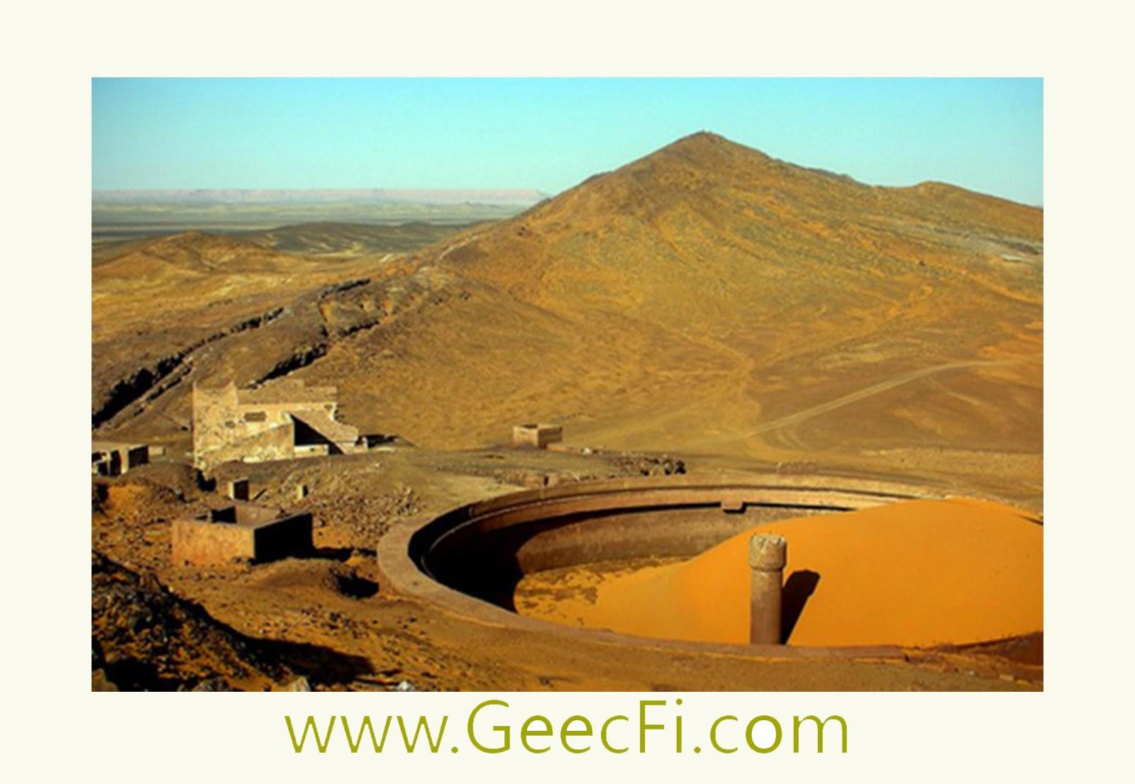 Inauguration de la  mine d'argent  Zgounder