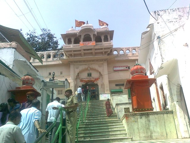 lord bramha temple outer view