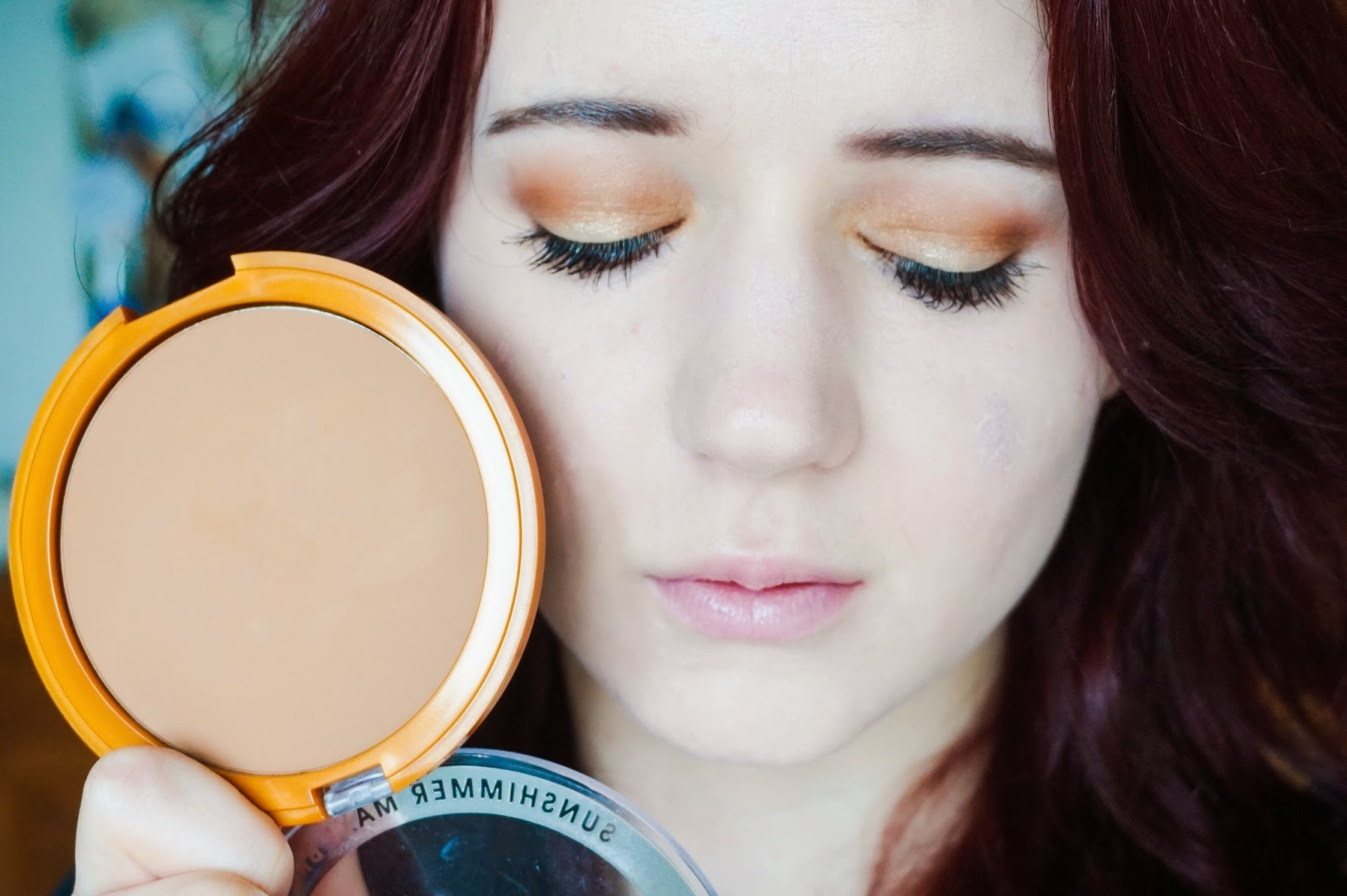 FOTD eyeshadow tutorial bronze bronzer neutral gold warm eye