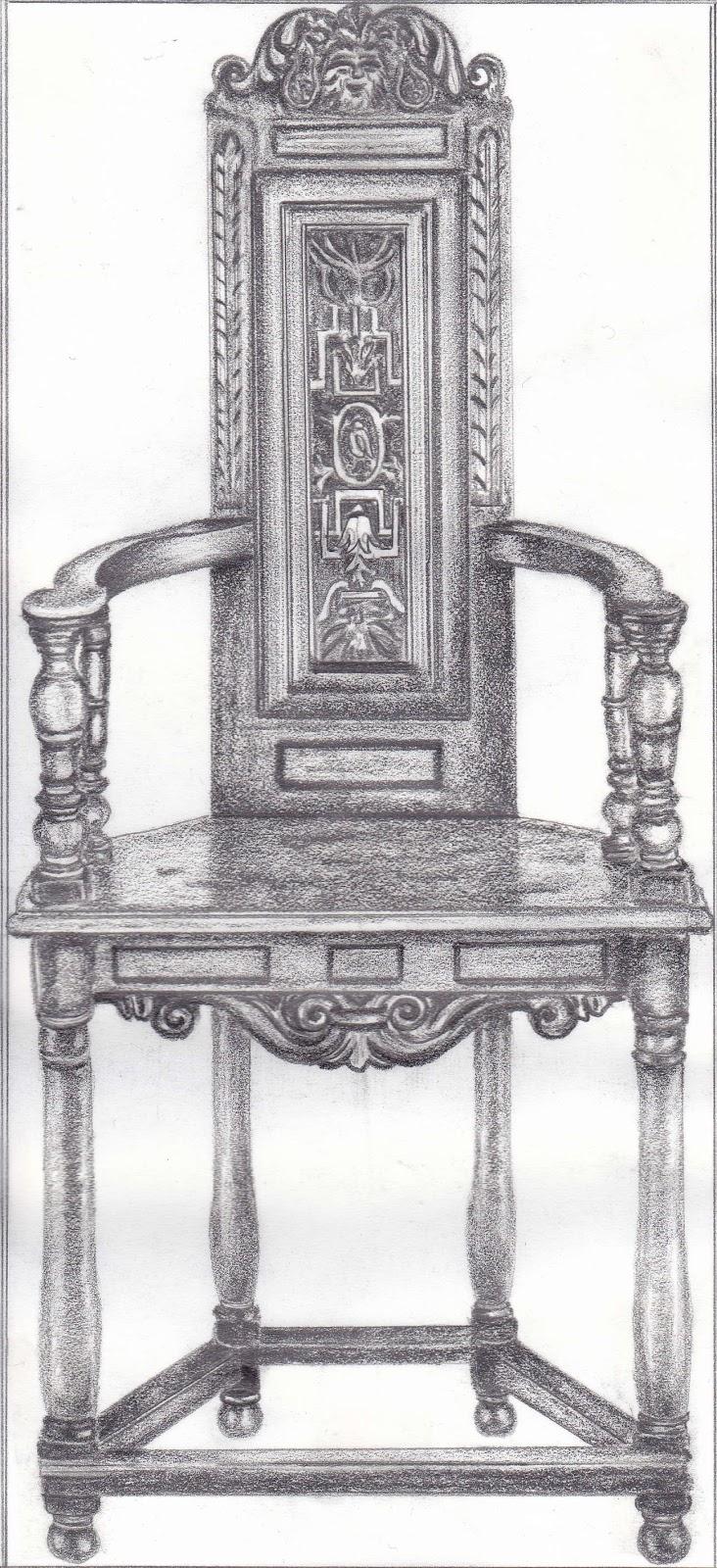 History Interior Design Furniture ~ Interior design history of furniture drawing