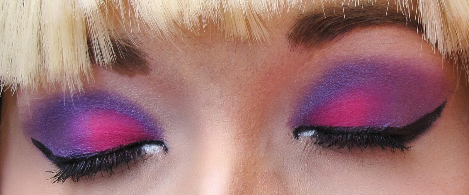 Looks  Dramatic Pink and Purple Eye Make Up  Temptalia