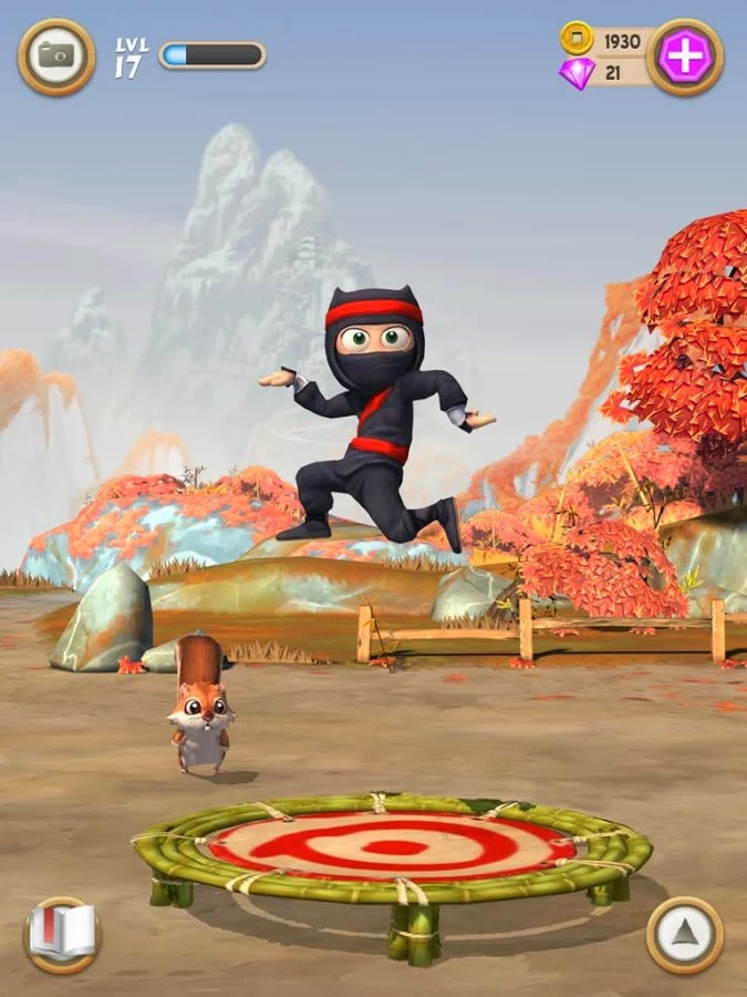 Clumsy Ninja FULL ANDROİD APK İNDİR