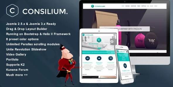 Consilium v2.3 – Multipurpose Creative Joomla Template
