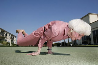 World Oldest Female Yoga Instructor- Bette Calman