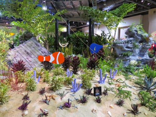 Philadelphia Flower Show 2015 movie display Finding Nemo