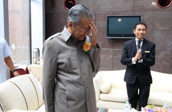 Tun Mahathir Takut Tulis Tentang 1MDB