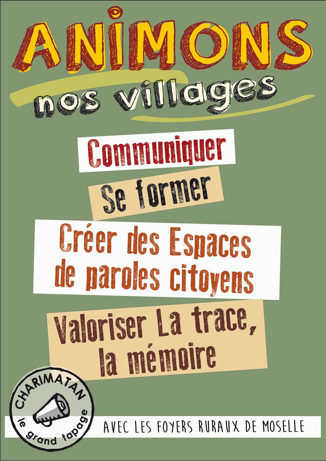 ANIMONS NOS VILLAGES!!!