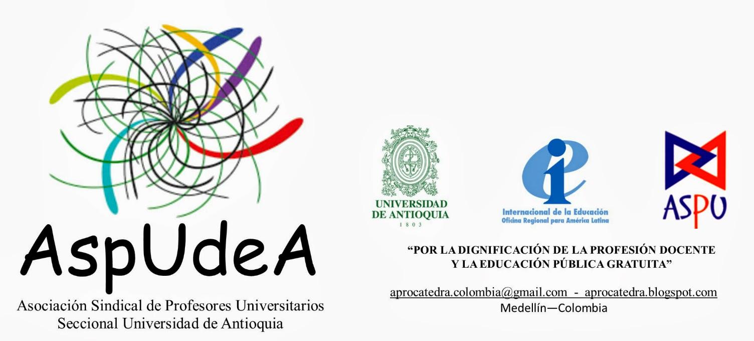 Sindicato de Profesores/as  Universidad de Antioquia-Seccional USPU -AspUdeA