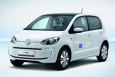 Volkswagen e-Up! 5-Door (2014) Front Side