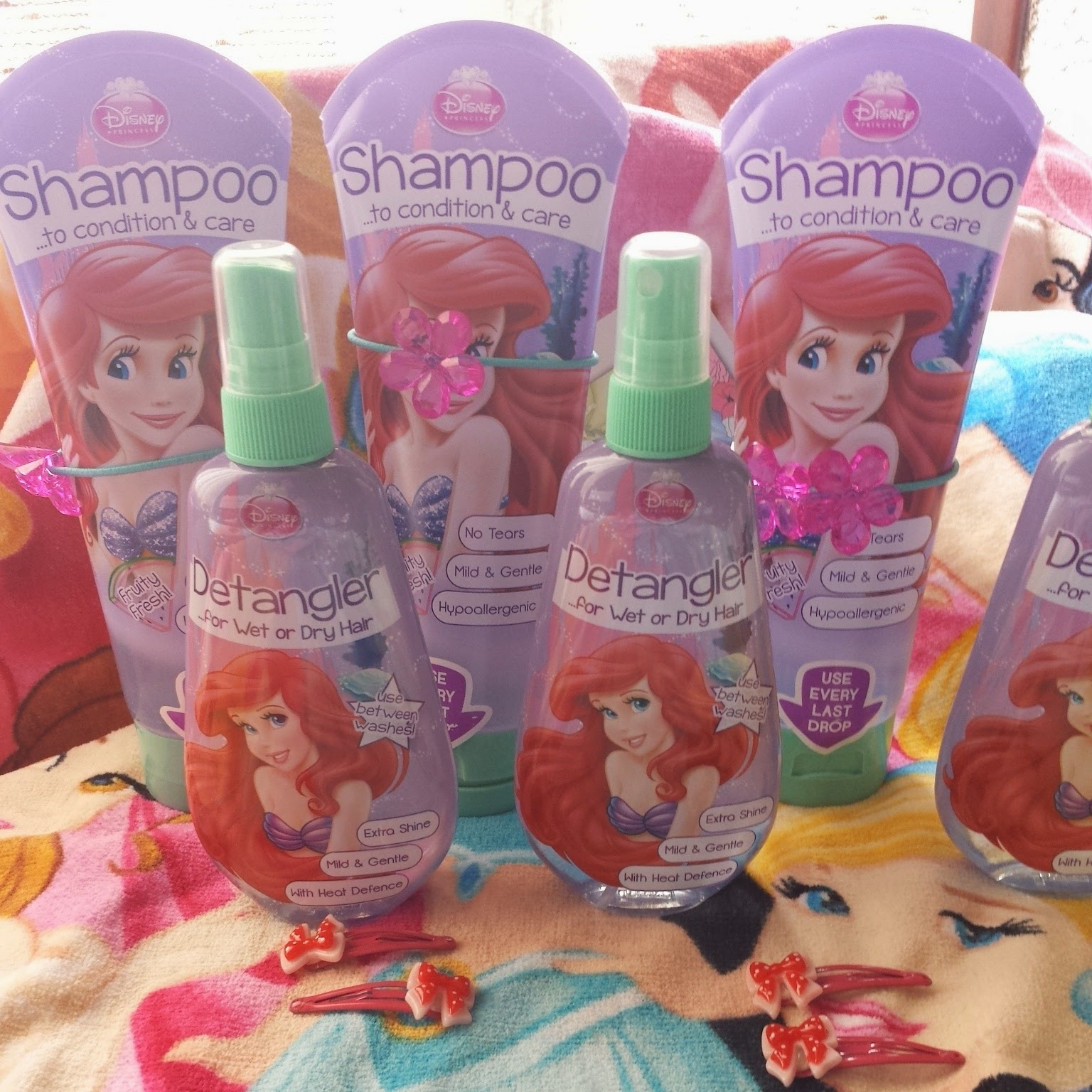 H&A Ariel Shampoo Detangler Haircare, Back to School Hair Style