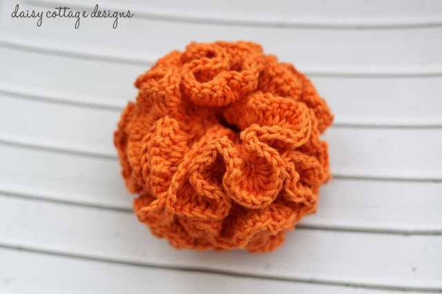 Bath Pouf Crochet Pattern Daisy Cottage Designs