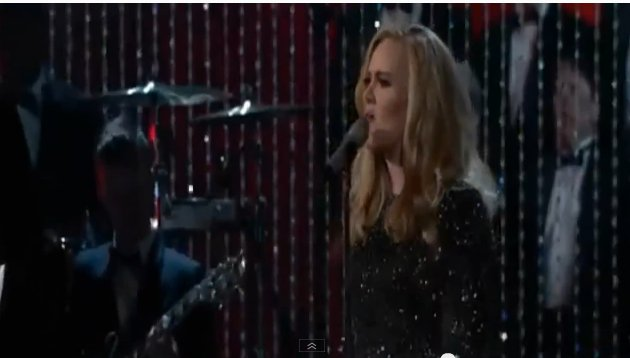 adele singing oscar
