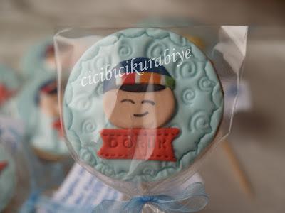 pepee kurabiye,pepee kurabiyesi,doğum günü kurabiyleri