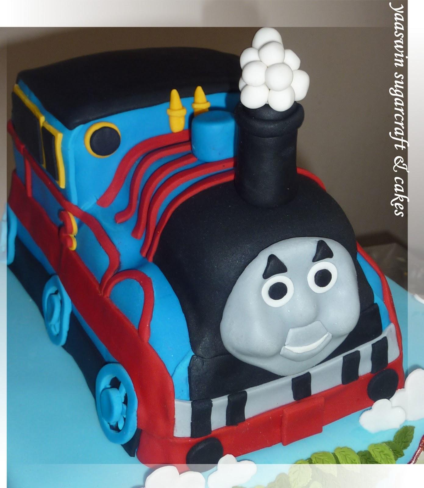 Yaaswin Sugarcraft & Cakes Thomas & Friends Cake