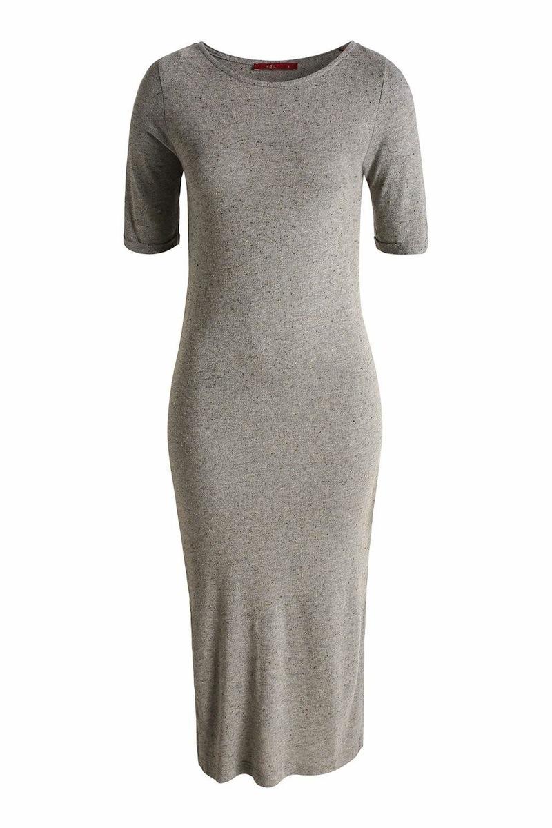 robe longue en maille ESPRIT