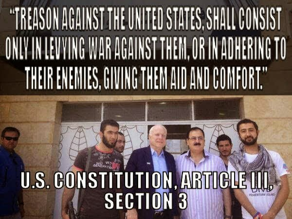 New York Times FAIL: 'McCain No Connections To ISIS?!?'