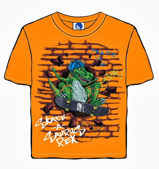 Hard-Rocking T-Rex Dino
