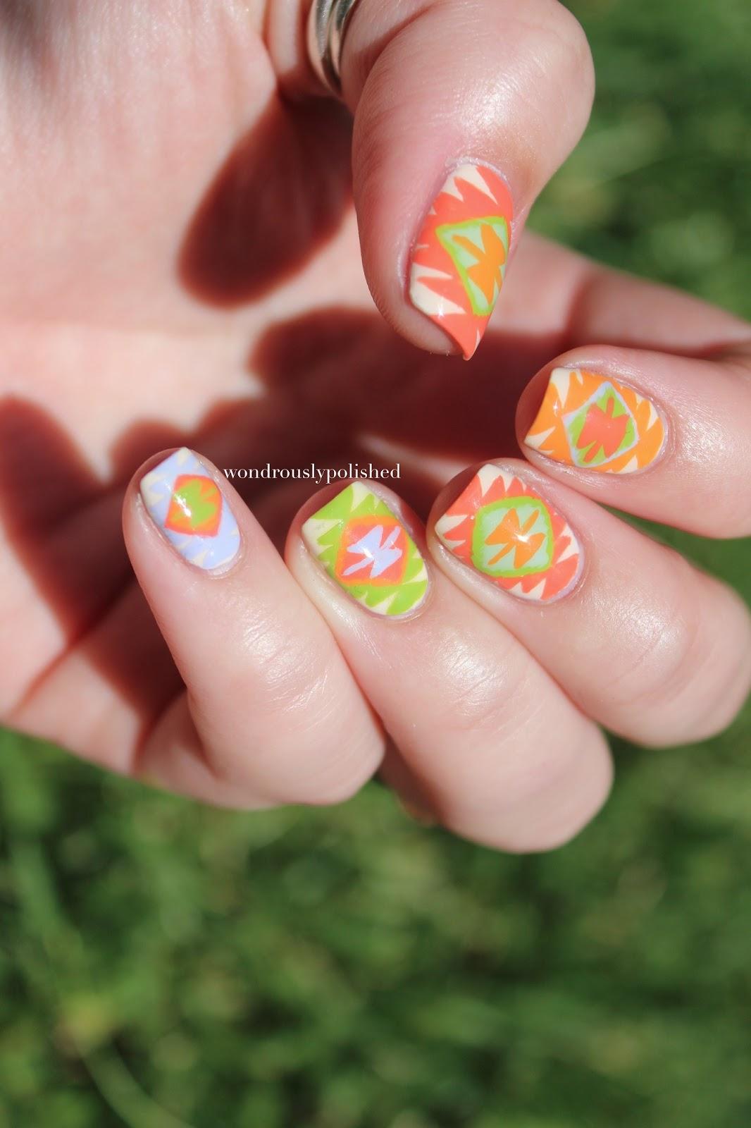 Print Out Nail Designs