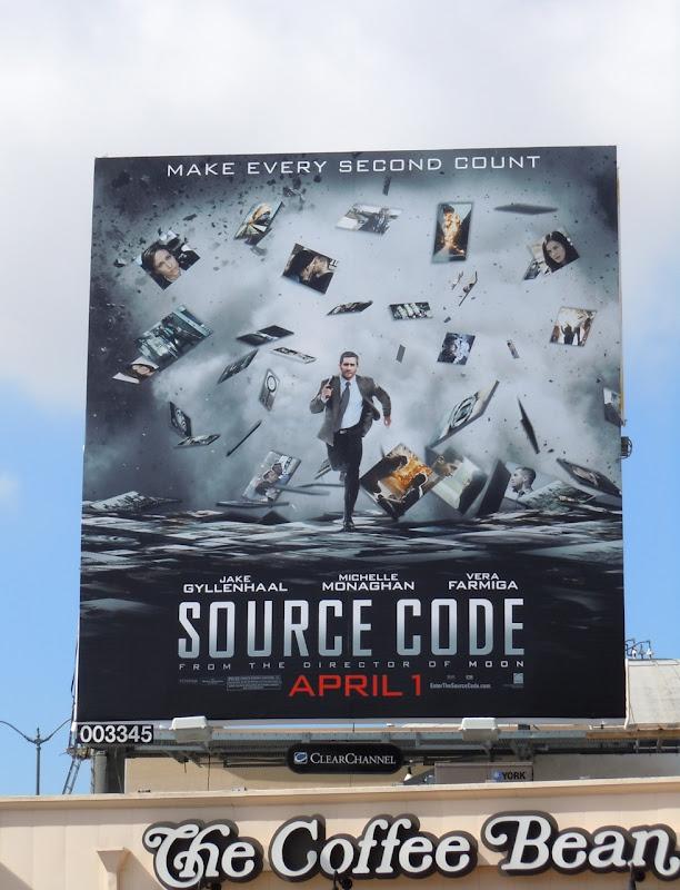 Jake Gyllenhaal Source Code billboard