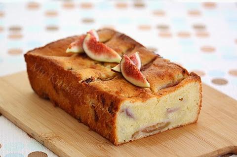fresh fig yogurt cake