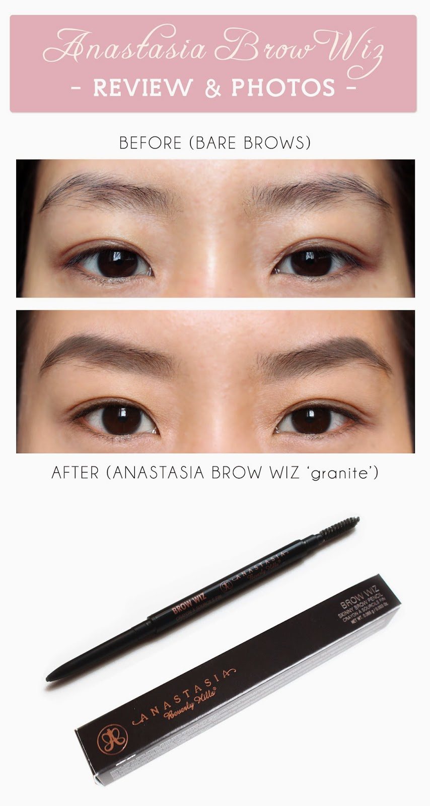 Asian Eyebrow Pencil Color